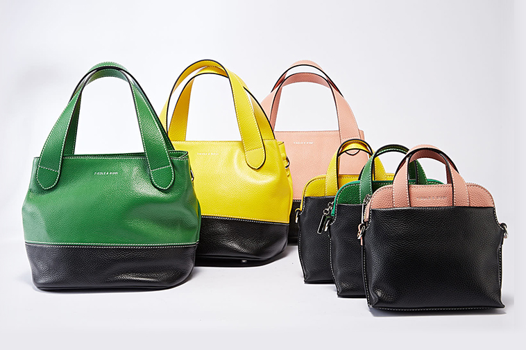 Contrast fashion bag collections