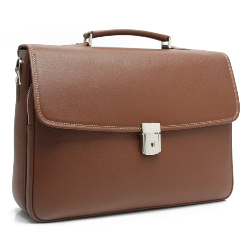 high quality leather men bag